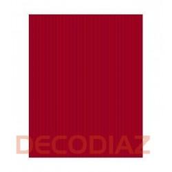 Bobina Papel de Regalo 62 cm. Kraft Verjurado Rojo
