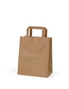 bolsas-de-papel-kraft-liso-asa-plana-21x13x26-cm-paquete-25uds