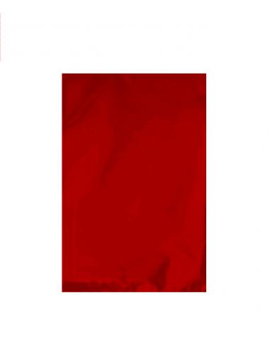 Sobres Metaliados Rojo Mate 25x40 - 50 Ud.