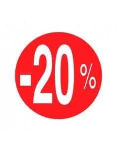 pegatinas-etiquetas-adhesivas--20%-de-descuento-rojo-blanco-35-mm-rollo-500uds