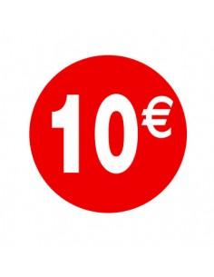 etiquetas-adhesivas-pegatinas-10€-rojo-blanco-redonda-medida-3,5-cm.-rollo 500uds