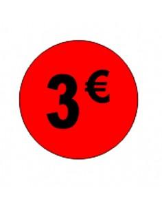 Etiquetas Adhesivas 3 Euros...