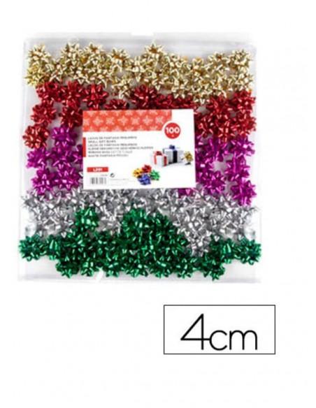 caja-moñas-adhesivas-surtidas-metalizadas-4-cm-100uds