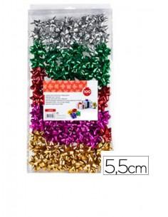 caja-moñas-adhesivas-surtidas-metalizadas-5,5-cm-100uds