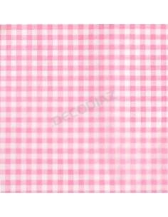 hojas-papel-seda-diseño-vichy-rosa-paquete-20-100-hojas-decodiaz