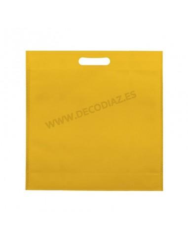 bolsas-amarilla-de-tejido-sin-tejer-asa-troquelada-50x45x10-cm-caja-200uds