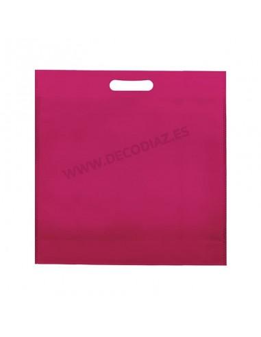 bolsas-fucsia-de-tejido-sin-tejer-asa-troquelada-50x45x10-cm-caja-200uds