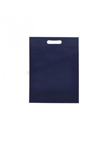 bolsas-azul-de-tejido-sin-tejer-asa-troquelada-17x22x6,5-cm-caja-200uds