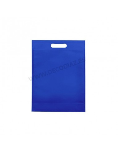 bolsas-azulina-de-tejido-sin-tejer-asa-troquelada-17x22x6,5-cm-caja-200uds
