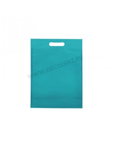 bolsas-turquesa-de-tejido-sin-tejer-asa-troquelada-17x22x6,5-cm-caja-200uds