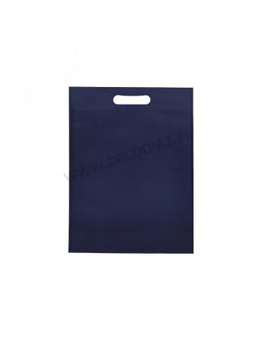 bolsas-azul-marino-de-tejido-sin-tejer-asa-troquelada-20x30x10-cm-caja-200uds