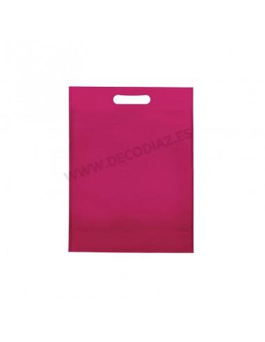 bolsas-fucsia-de-tejido-sin-tejer-asa-troquelada-20x30x10-cm-caja-200uds