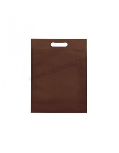bolsas-marron-de-tejido-sin-tejer-asa-troquelada-20x30x10-cm-caja-200uds