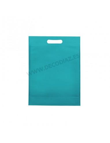 bolsas-turquesa-de-tejido-sin-tejer-asa-troquelada-20x30x10-cm-caja-200uds