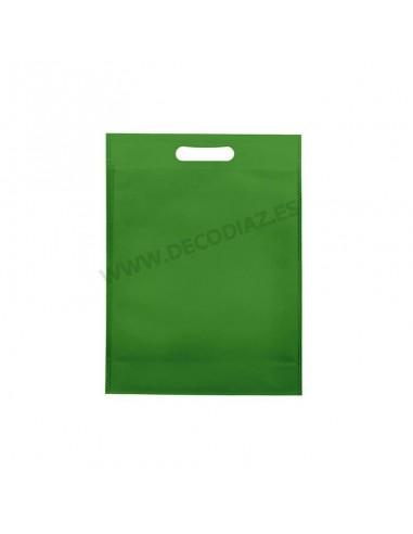 bolsas-verde-de-tejido-sin-tejer-asa-troquelada-20x30x10-cm-caja-200uds