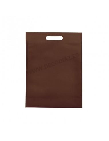 bolsas-marron-de-tejido-sin-tejer-asa-troquelada-30x40x10-cm-caja-200uds