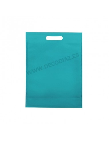 bolsas-turquesa-de-tejido-sin-tejer-asa-troquelada-30x40x10-cm-caja-200uds