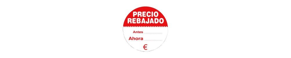 Etiquetas Adhesivas Rebajas - Ofertas - Promoción