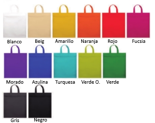 Colores bolsas